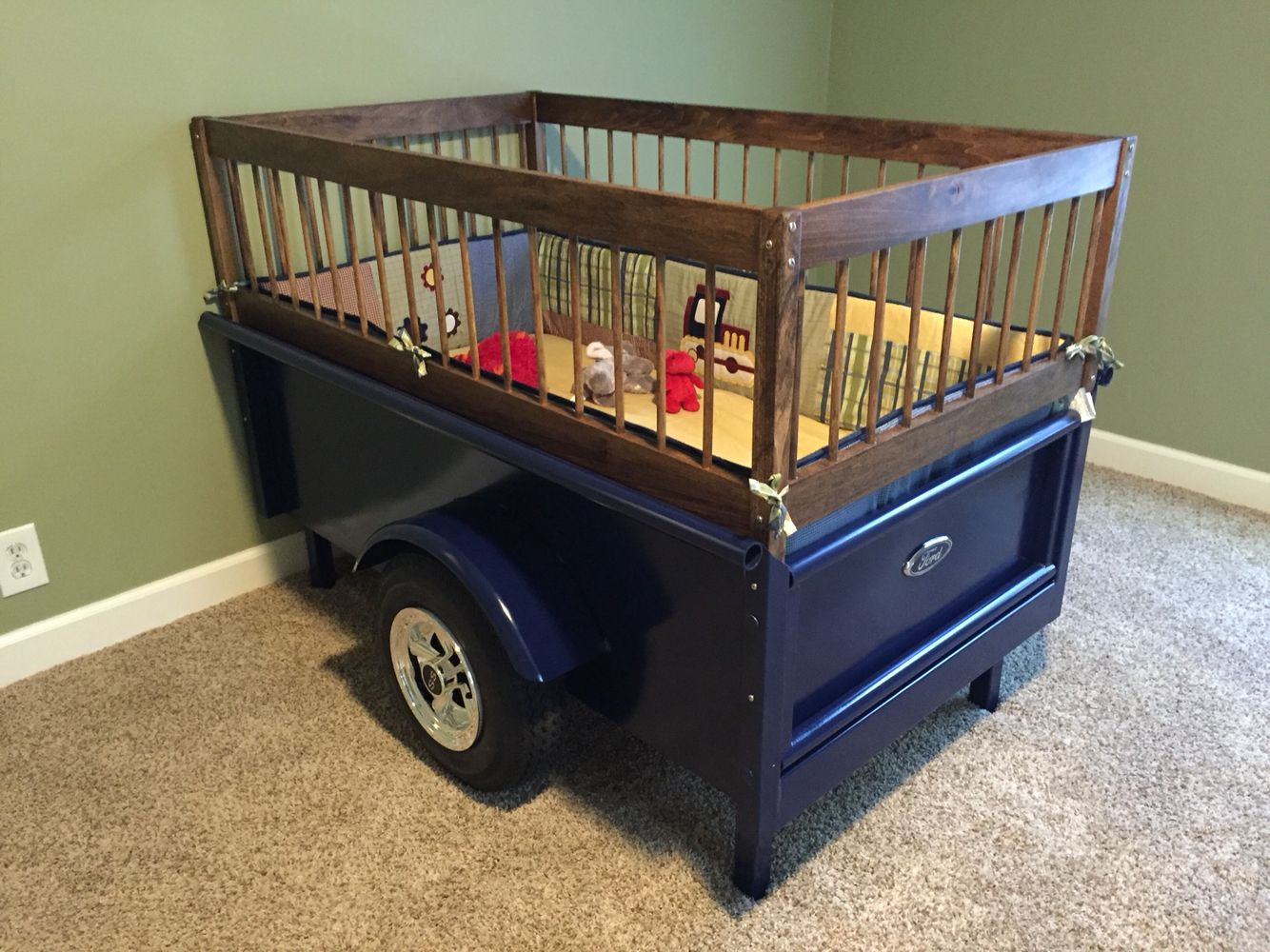 Baby Truck Truck Bed Baby Crib Automotive Decor My Projects