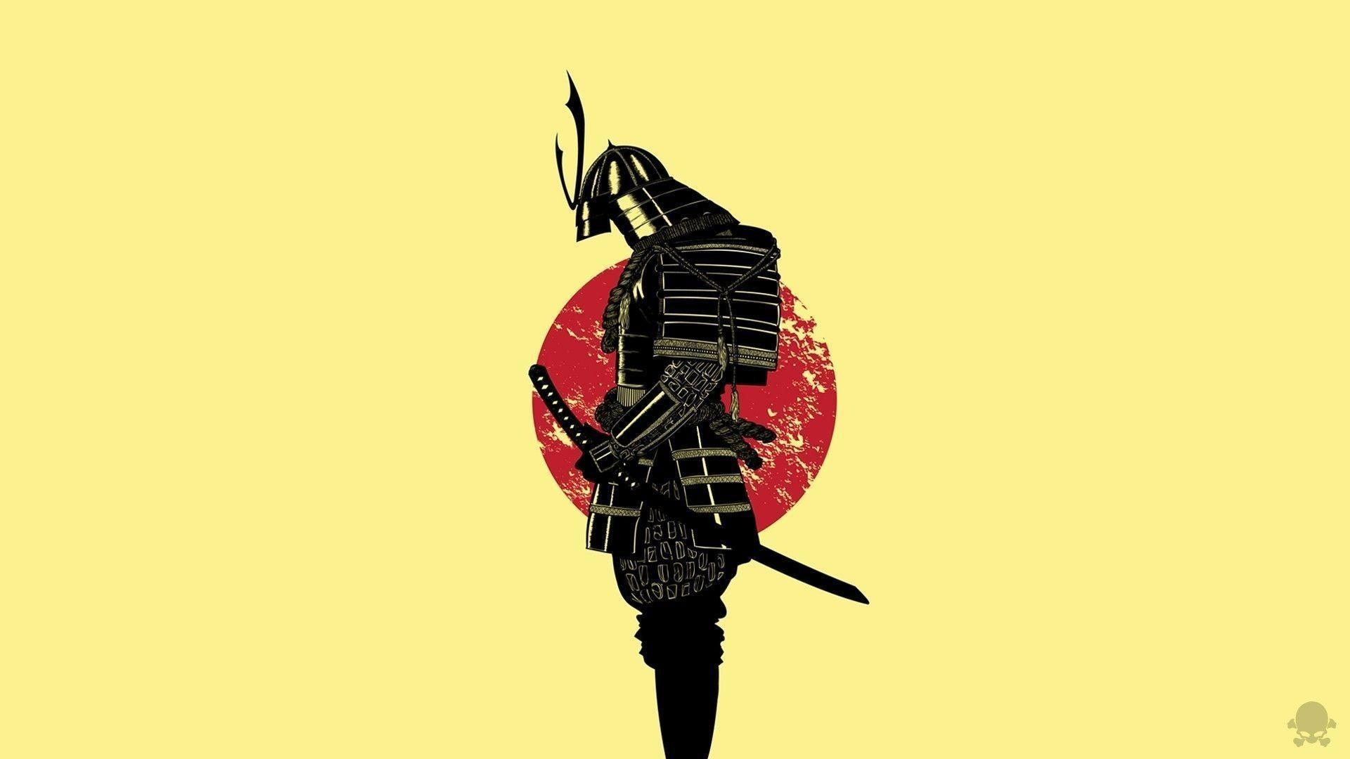 Res 1920x1080, Japanese Art Samurai Girl Wallpapers