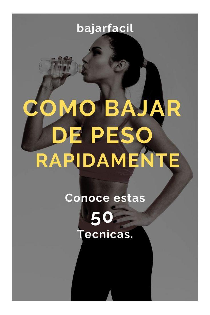 50 Consejos o tecnicas para bajar de peso rapido y no solo con dietas!