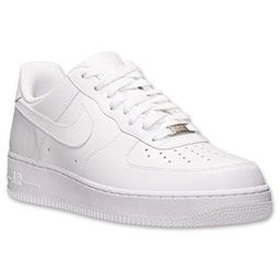 (2014) Men's Nike Air Force 1 Low Casual Shoes | Finish Line | White