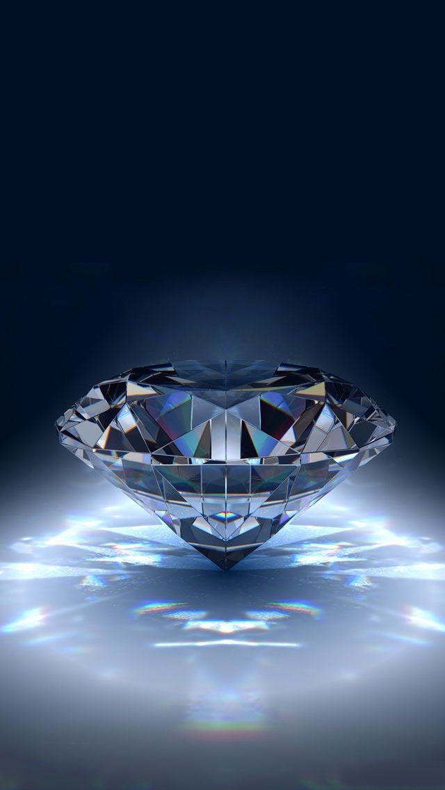 Pin By Kawanda Jaudon On Iphone Wallpaper Pictures Of Crystals Diamond Wallpaper Blue Diamond
