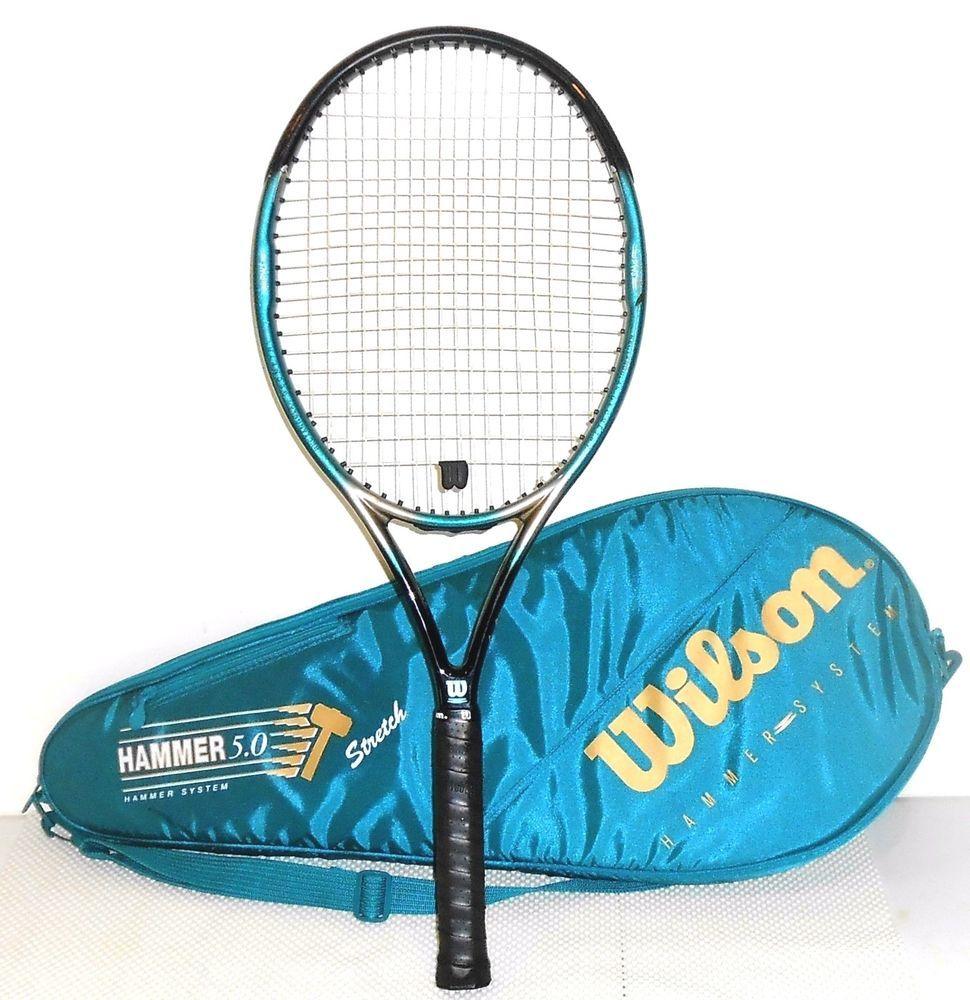 Wilson Hammer 5.0 Stretch Tennis Racquet 110 Sq In & Case
