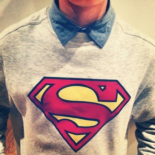 superman, jovenes , casual