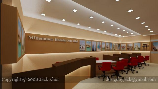 Travel agency google keres s office pinterest for Office design johor