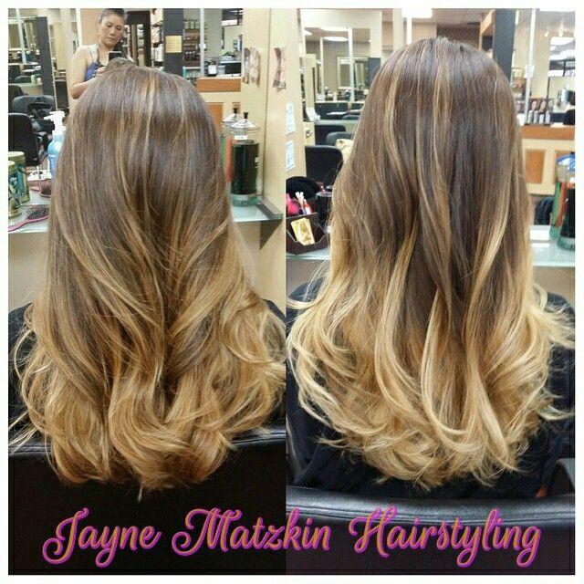 From caramel to blonde.  Natural level 3.  Made possible with Olaplex.   #jaynematzkinhairstyling #PersonneCompletSalon #nofilters #behindthechair #modernsalon #Olaplex #redken #joico #artego #deColorB #(818)224-2035