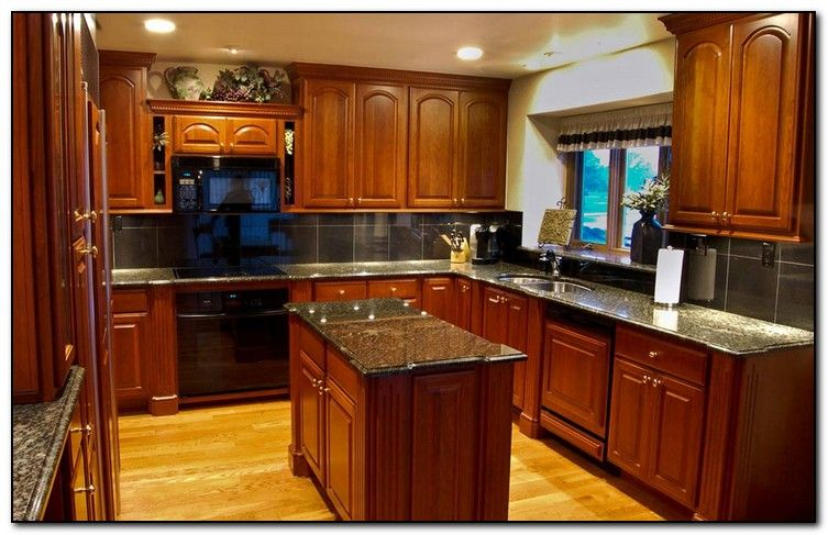 How Coordinate Paint Color With Kitchen Colors Cherry Cabinets For Kitchens Dark Gr Cherry Cabinets Kitchen Cherry Wood Kitchen Cabinets Kitchen Cabinet Styles
