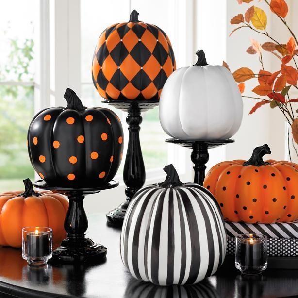 Designer Pumpkin Collection Grandin Road Boo Bash! Pinterest - circus halloween decorations