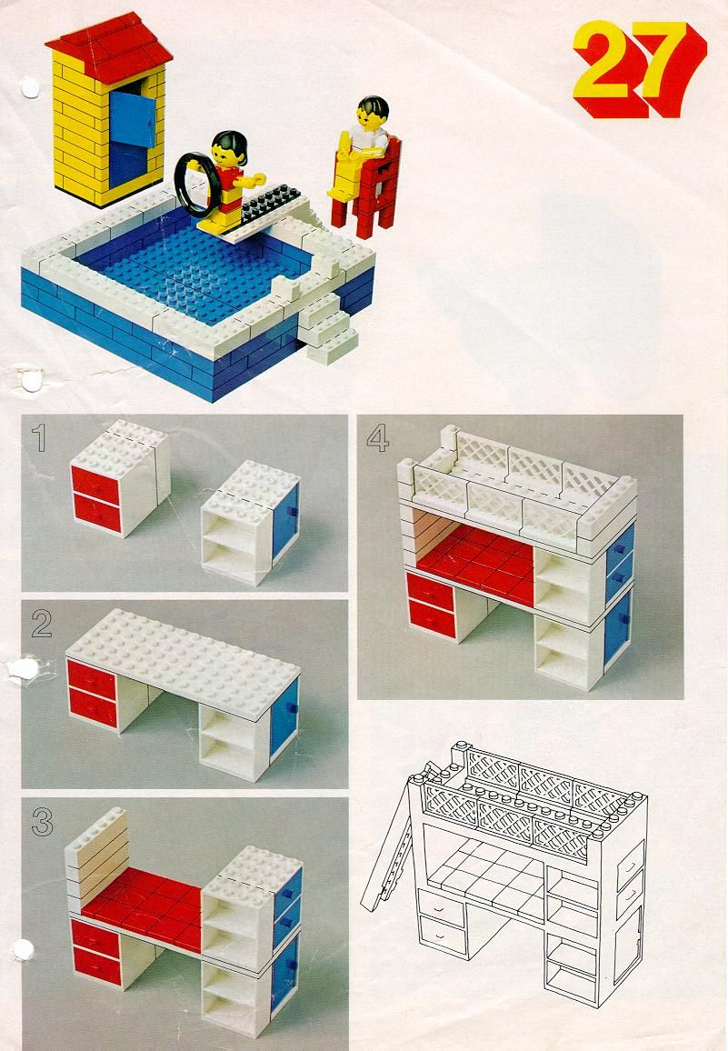 zwembad stapelbed lego duplo pinterest lego spielzeug und lego ideen. Black Bedroom Furniture Sets. Home Design Ideas