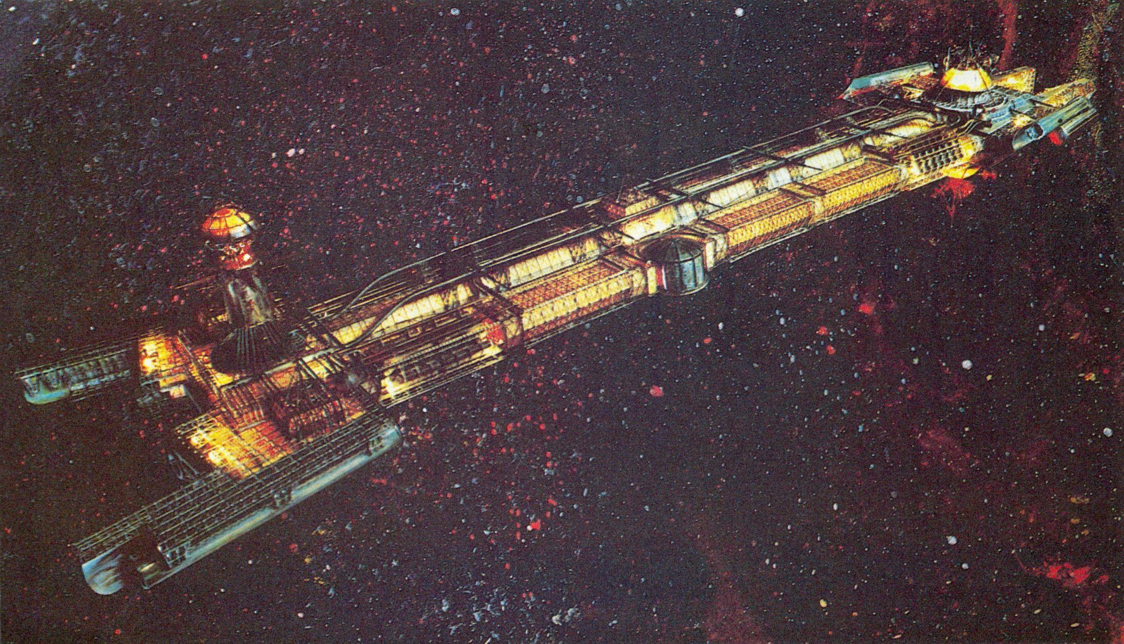 USS Cygnus Promo 17 | My Fandom Is Random | Art, 70s sci ...