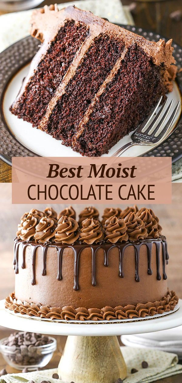 The BEST Chocolate Cake Recipe | Moist Chocolate Cake Recipe