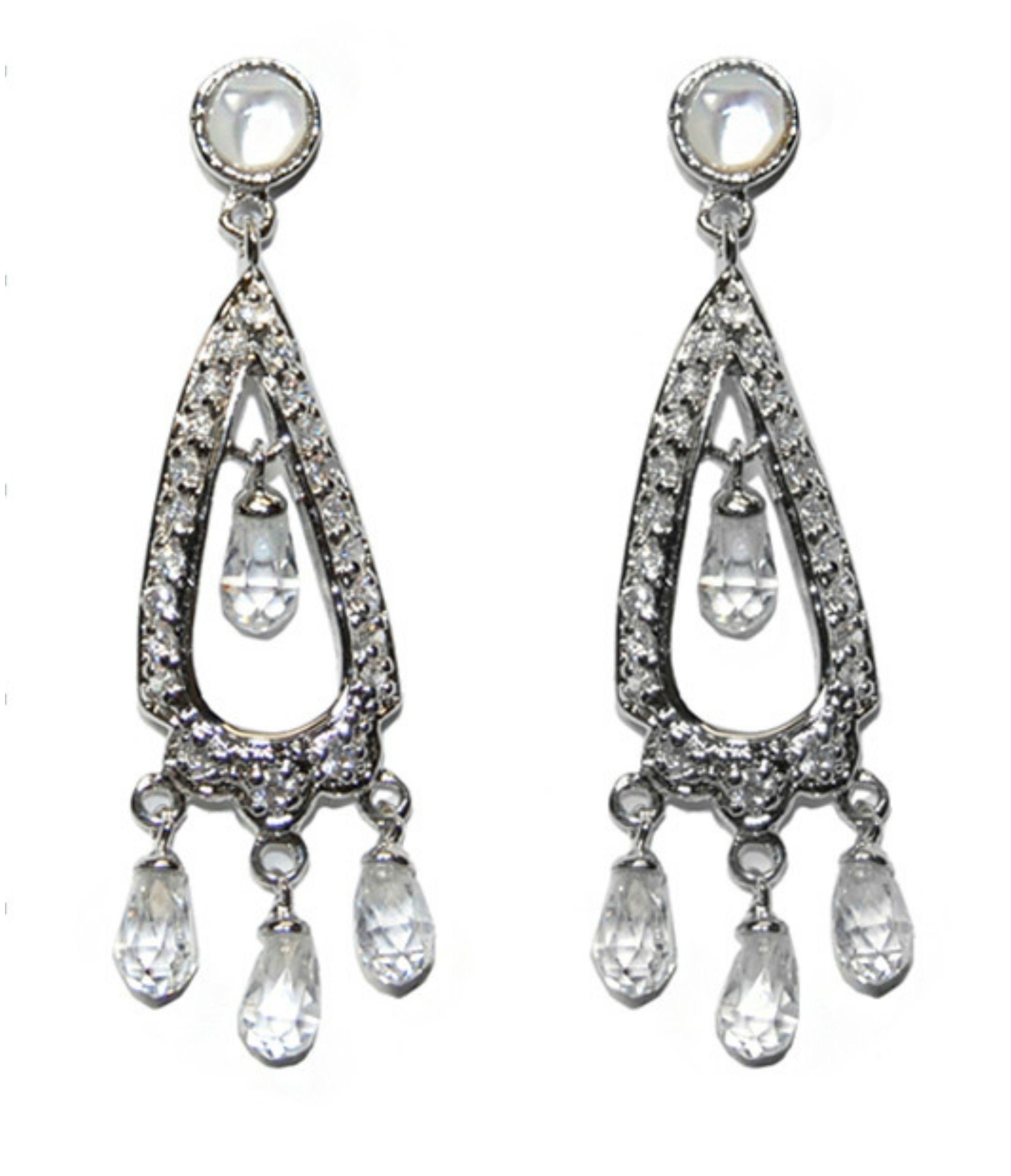 Kurrsten cz dangle chandelier earrings cubic zirconia chandelier kurrsten cz dangle chandelier earrings cubic zirconia arubaitofo Choice Image