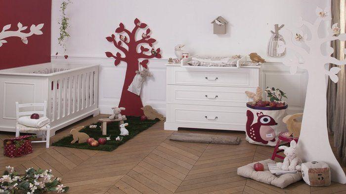 Le bois réchauffe la chambre des enfants