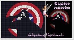 Salveo gráfico para imprimir e a tabela de cores aqui: http://dinhapontocruz.blogspot.com.br/2014/08/super-herois-ponto-cruz-parte-1.html