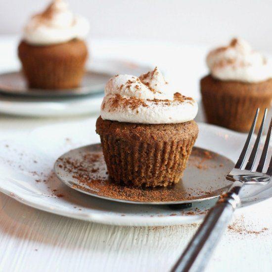 Gluten-free Pumpkin Spice Latte Cupcakes. Taste Just Like