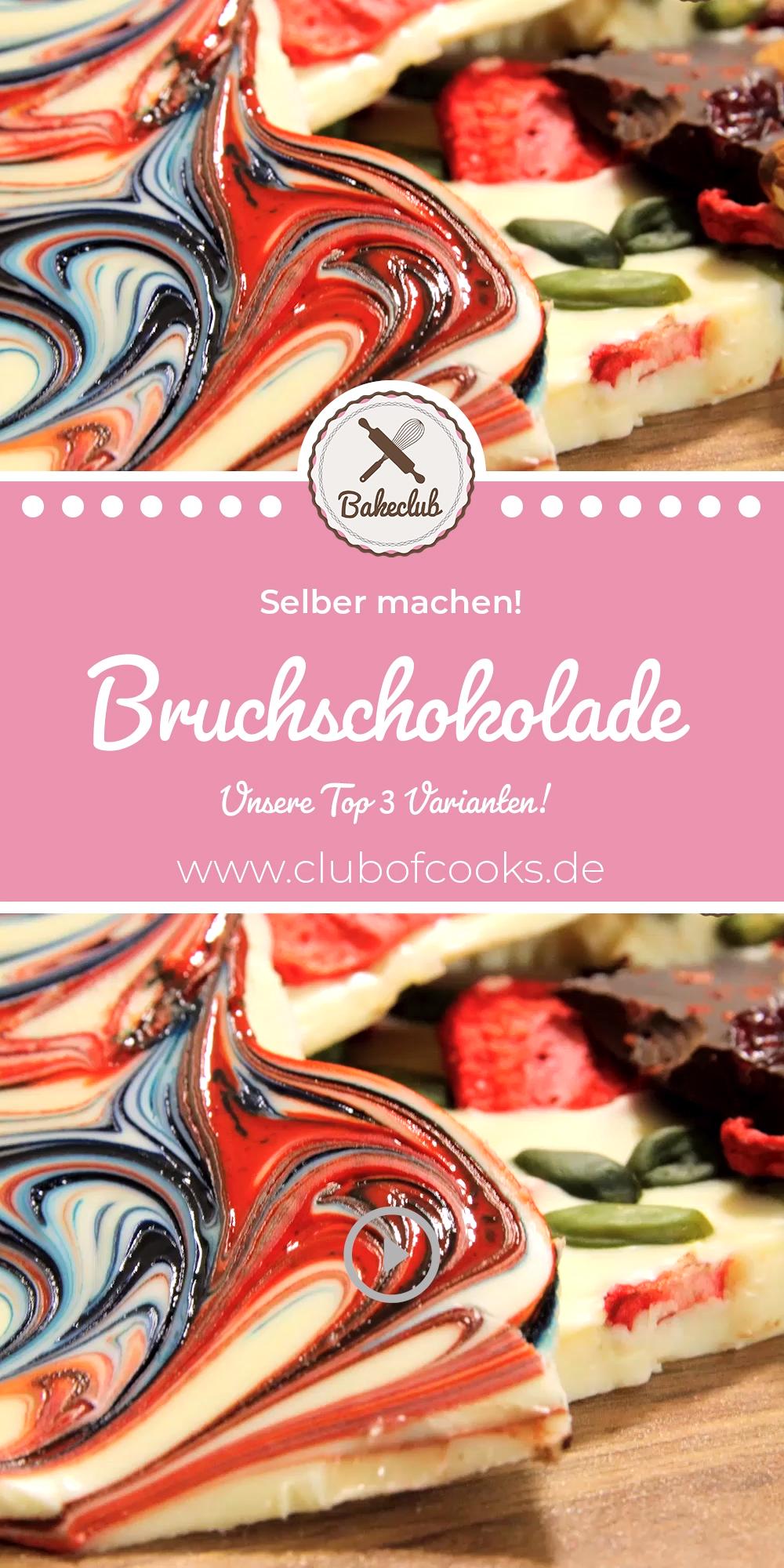 Bruchschokolade - Unsere Top 3 Varianten!