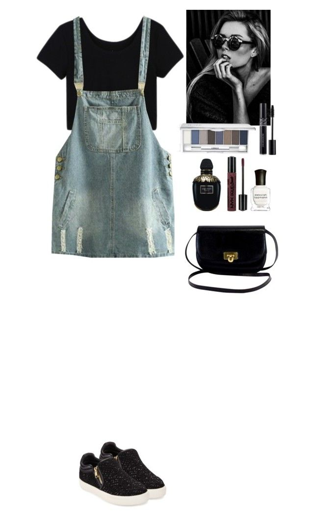 """""""Outfit Beautifulhalo"""" by eliza-redkina ❤ liked on Polyvore featuring Ash, Clinique, Christian Dior, Deborah Lippmann, NYX and Alexander McQueen"""
