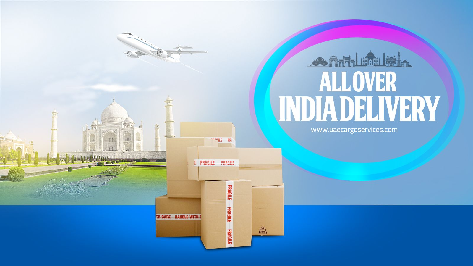 Send 31-KGS parcel to all over #India in just AED 11 per KGS