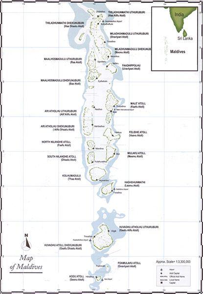 Maldives on the Map Maldives Pinterest Maldives and Location map