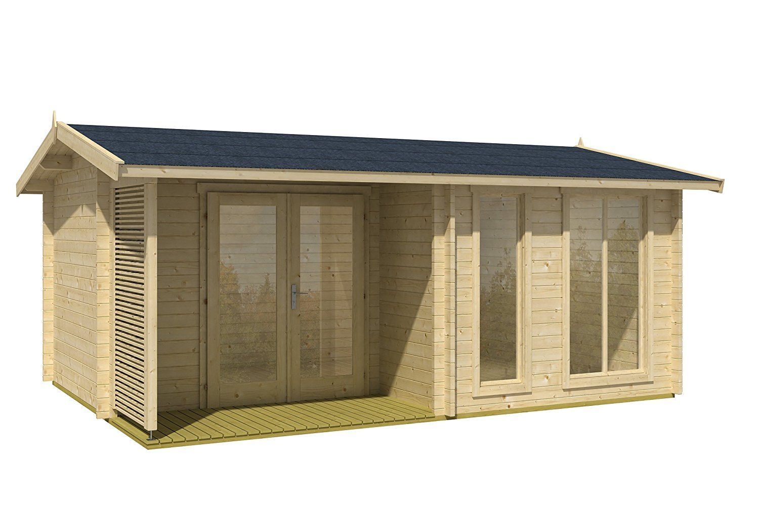 Allwood Sommersby Garden House Kit Small Space Living