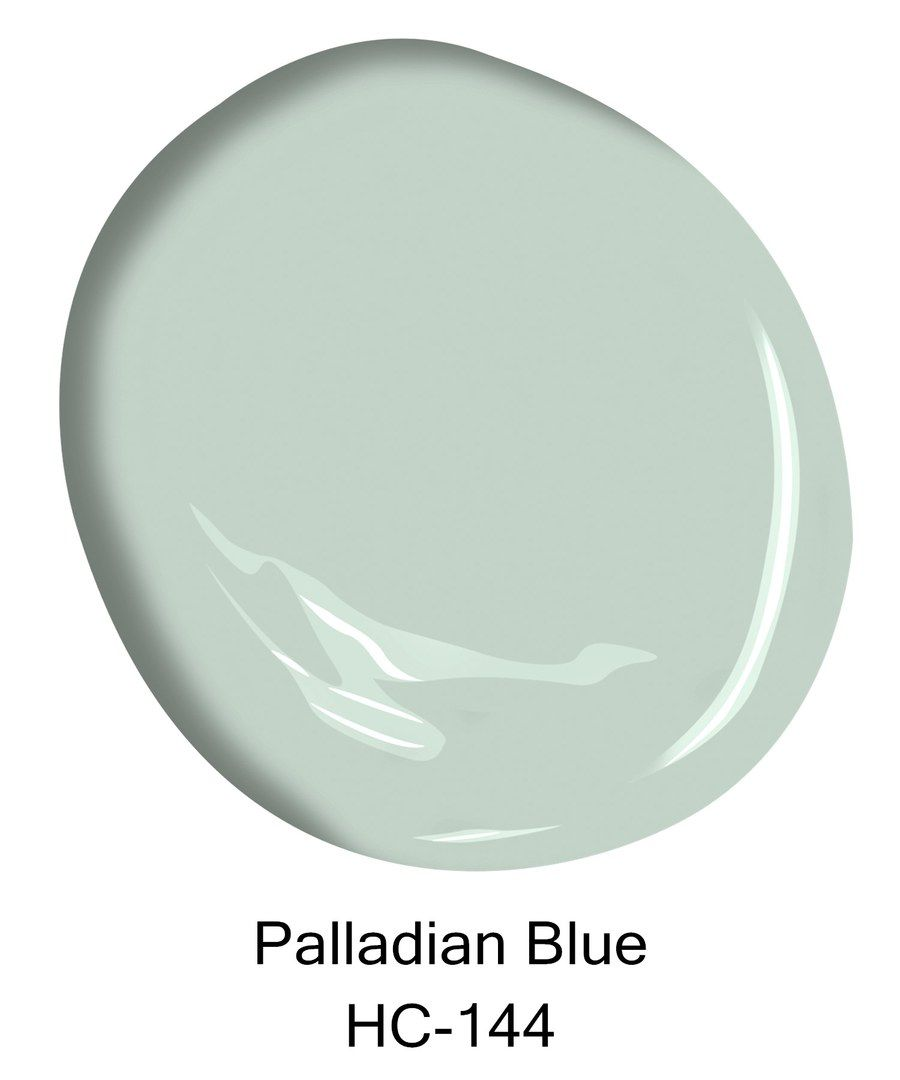 Palladian Blue Hc 144 Courtesy Of Benjamin Moore