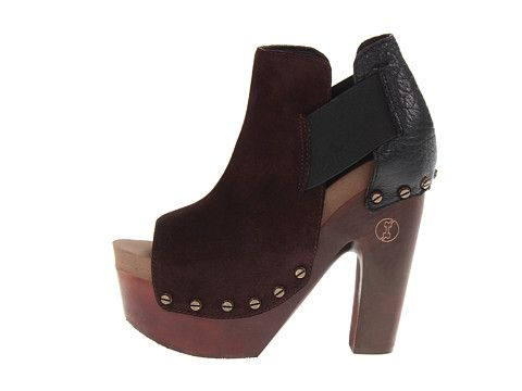 Flogg Deja Chocolate Suede/Black Nappa Leather - 6pm.com