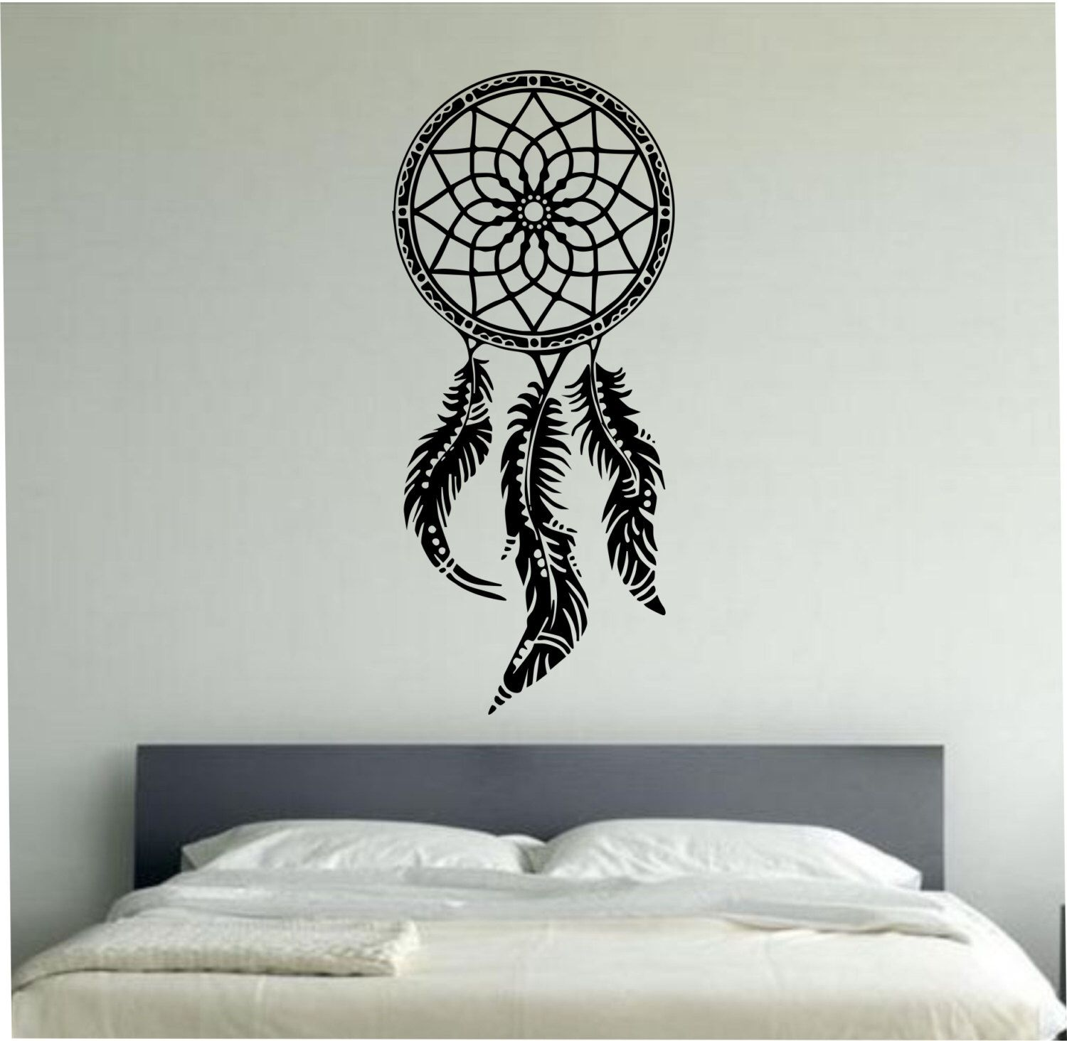 Vinyl Wall Decal Dream Catcher Wall Decal Sticker Vinyl Art Decor Bedroom