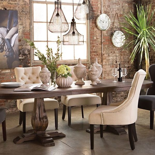 Diego Dining Table Living Spaces Dining Room Furniture