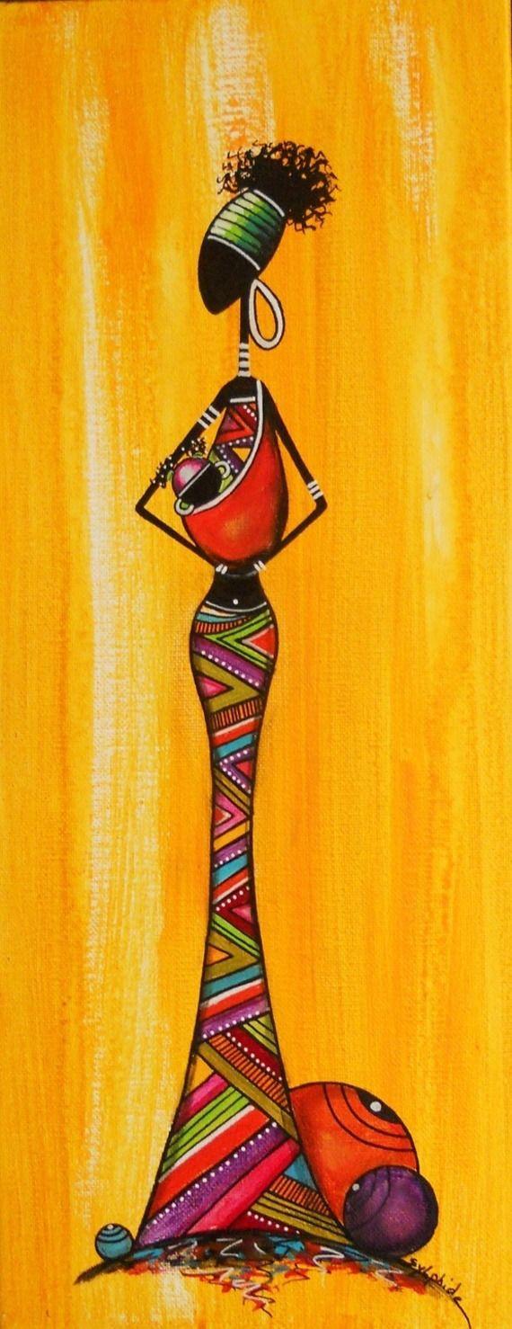 tableau africain original