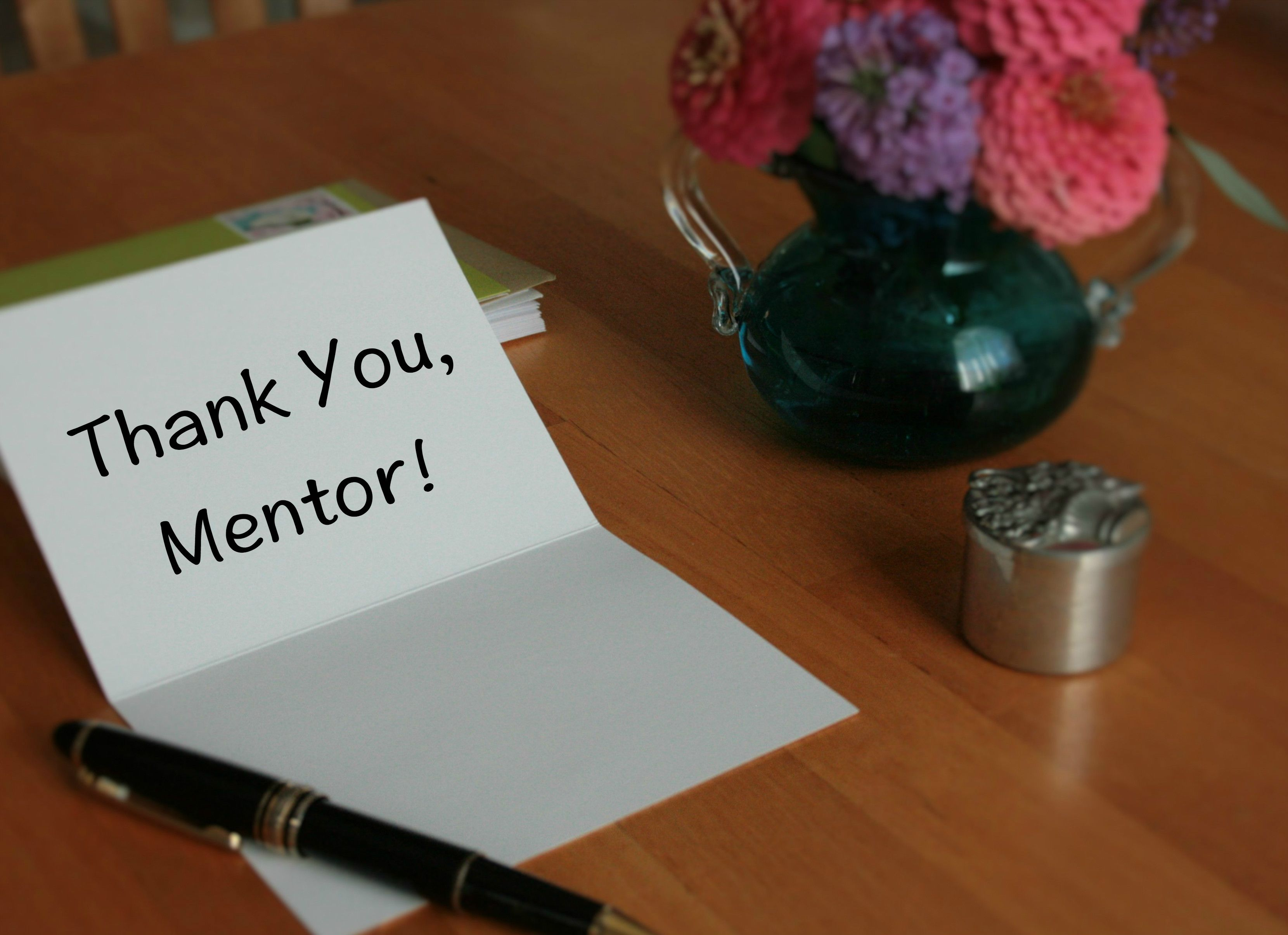 Thank You Message For A MentorSamples Of