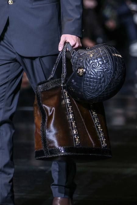 Versace details | Fall 2014 Menswear Collection