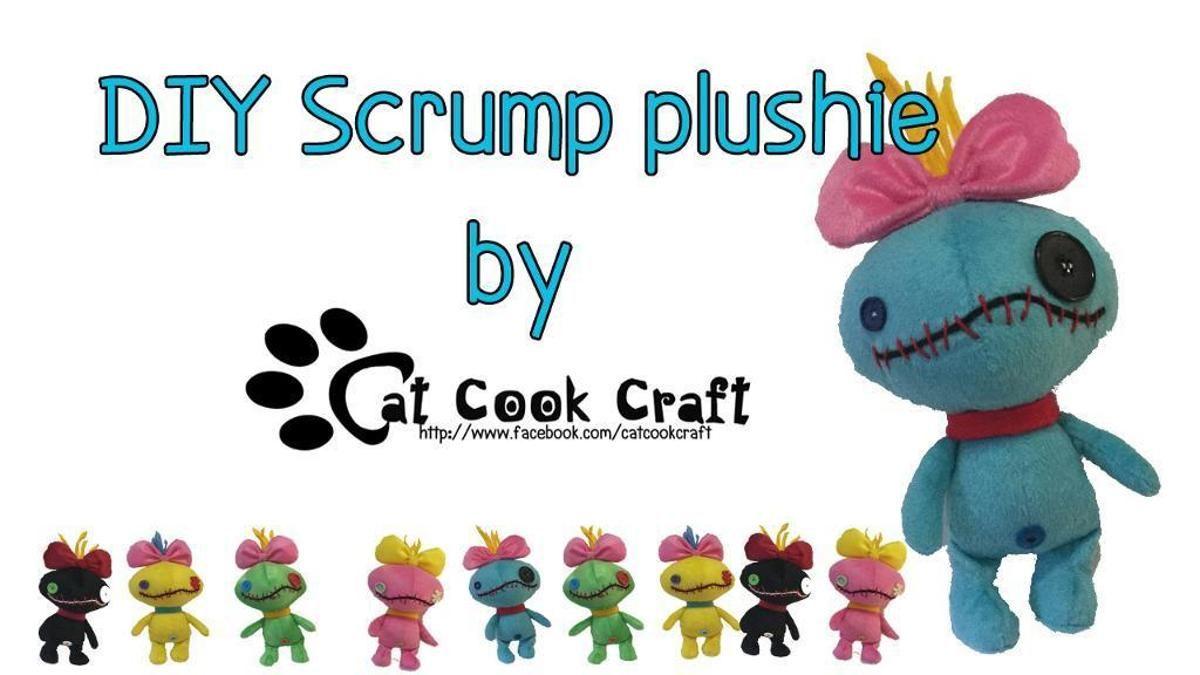 Scrump Plushie Free Pattern Plushie Patterns Plush Pattern