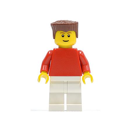 Blue Arms LEGO® Minifig hor002 Horizontal Lines Blue Blue Legs