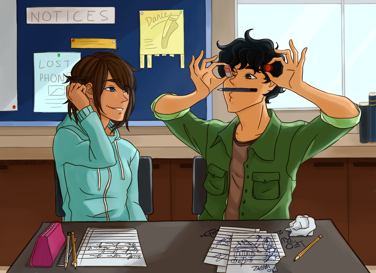 Percy Jackson Jason And Piper