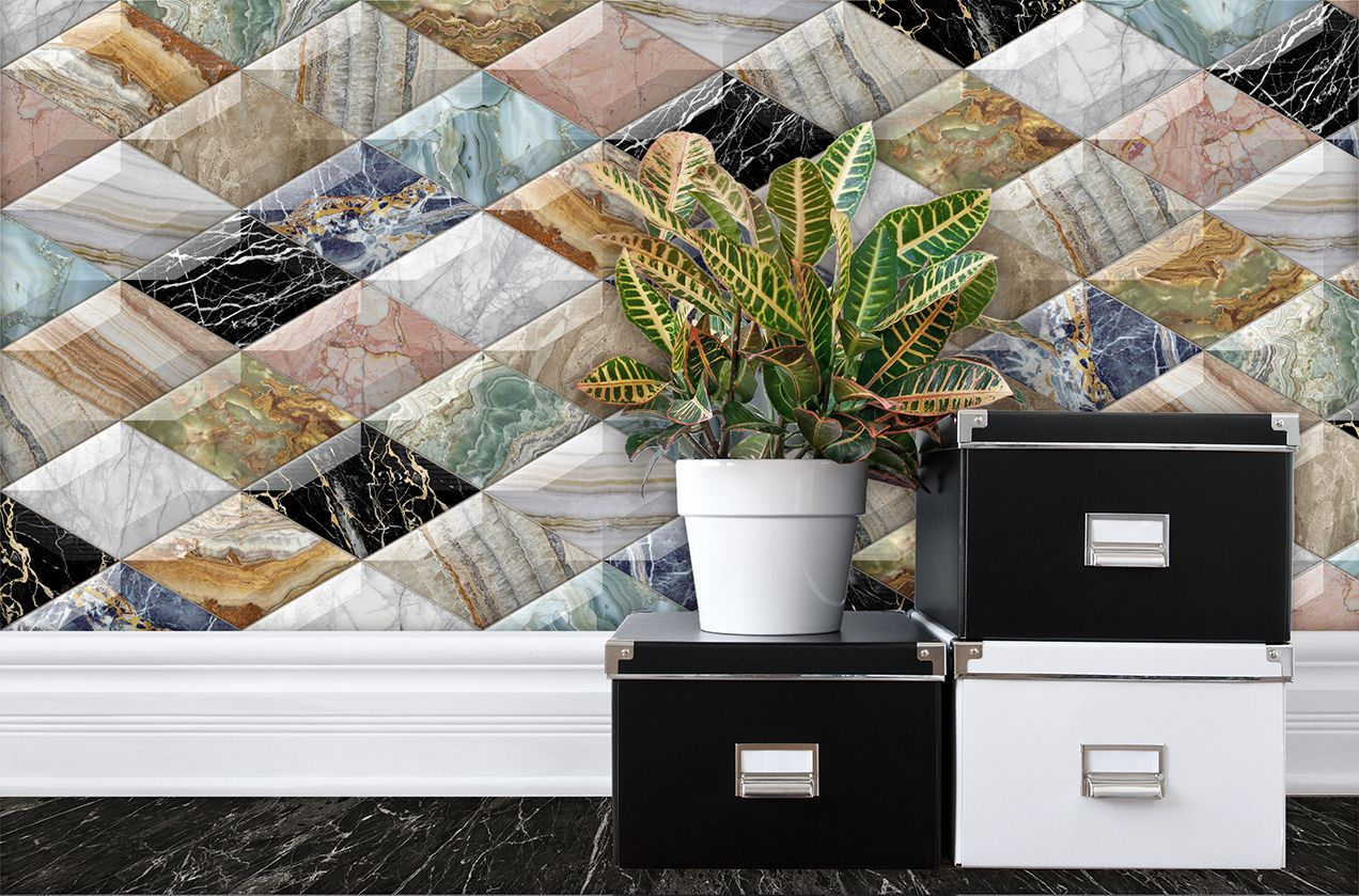 Ambient With Spectacular Ceramic Relieff Marble Finish Ambiente Con Relieve Ceramico Con Espectacular Acabado Marmol Azulejos Ambiente Marmol