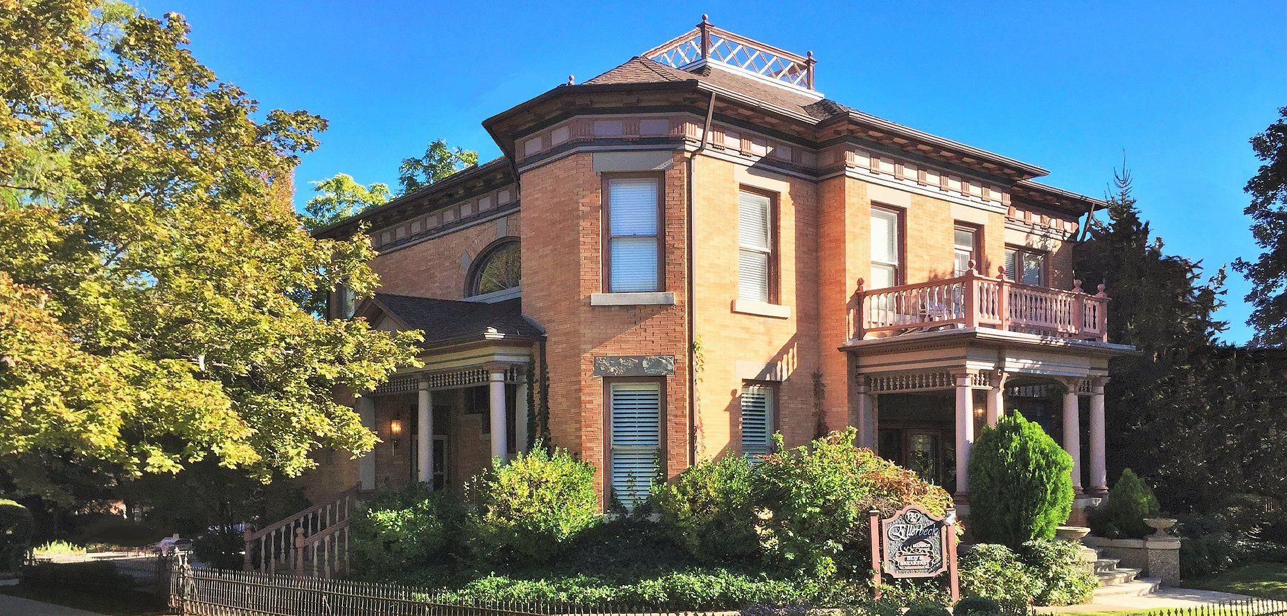 Salt Lake City, Utah Ellerbeck Mansion Mansions, Bed