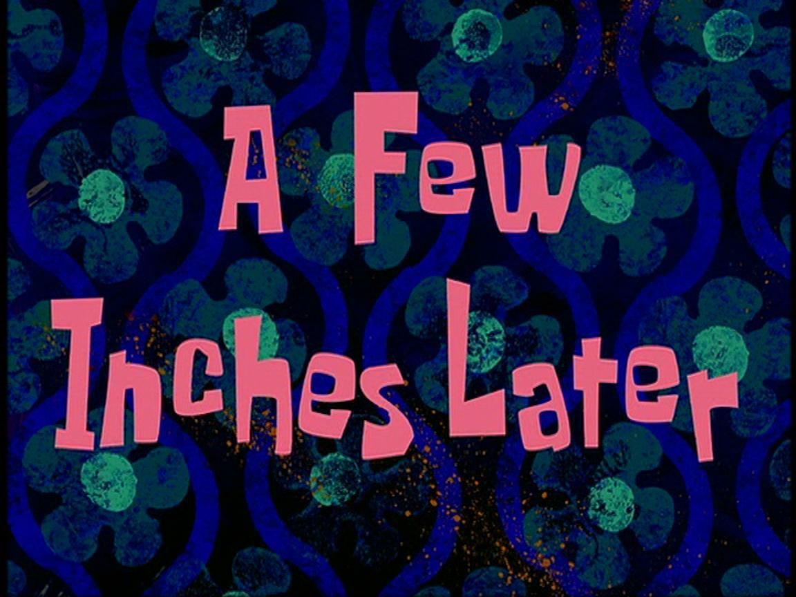 List of time cards Spongebob time cards, Spongebob