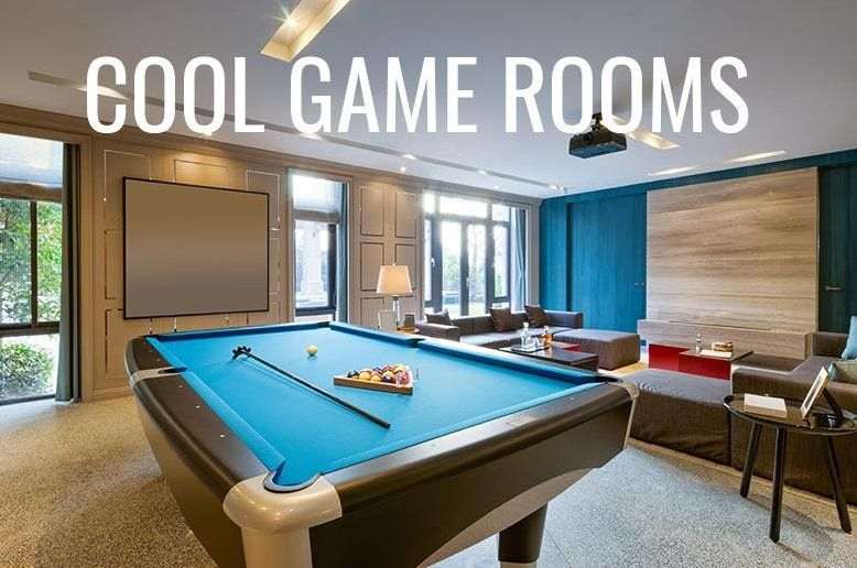 Cool Game Rooms in 2018 Beautiful Home Pinterest