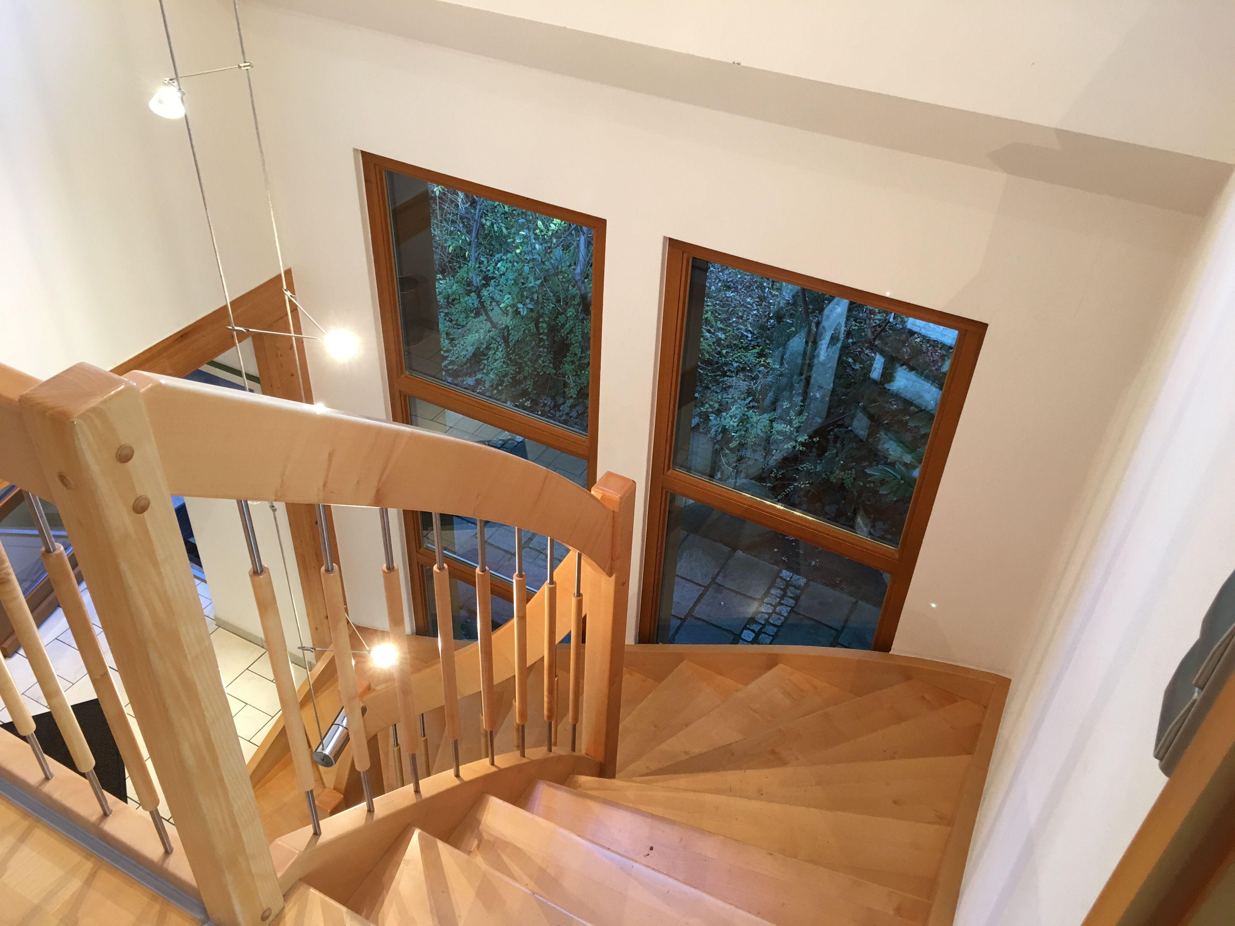 Relativ Treppe #Treppenhaus (Fenster hochkant) | Wohnen | Bathroom und Bathtub MZ82
