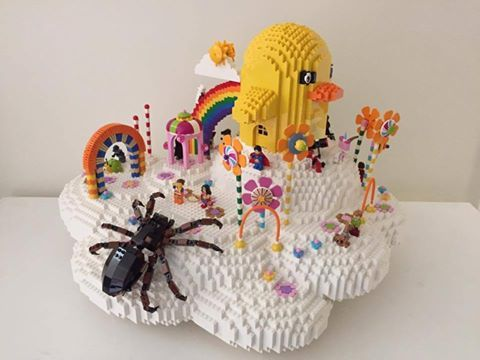 Lego Nathan Sawaya's