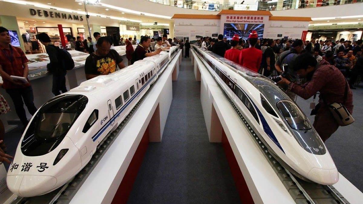 Kereta Api Cepat China