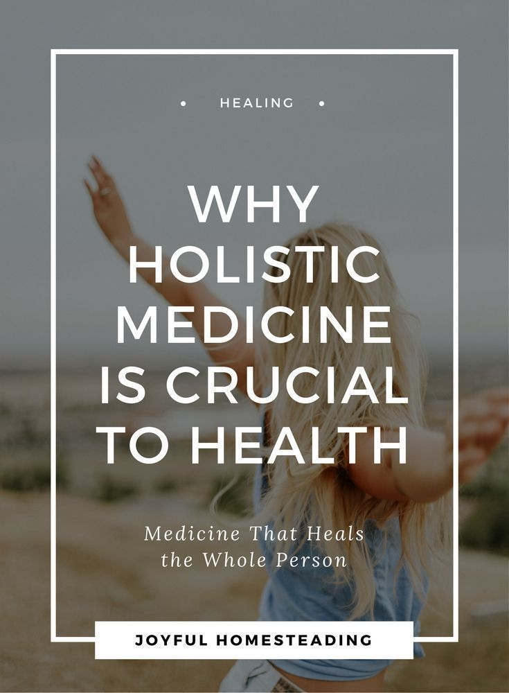 Holistic approach in medicine is medicine that treats the whole body, providing not only complete healing, but also a better, healthier way of living.