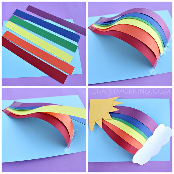 3d Rainbow Crafts Classroom Ideas Rainbow Crafts Spring Crafts