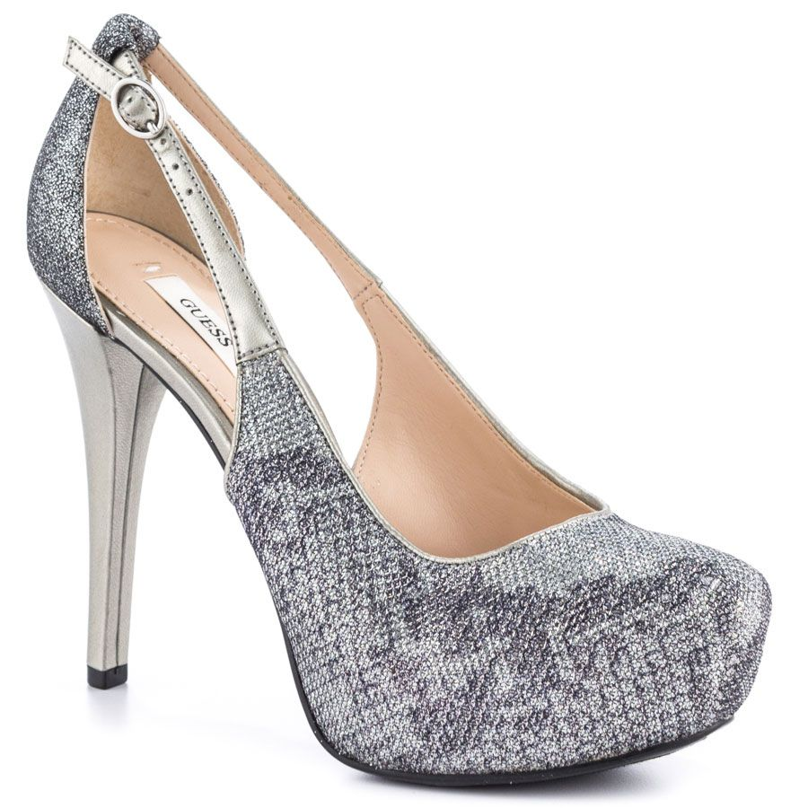 6a0cbe3f1423 Guess s Silver Jacobaly - Silver Multi Fabric for 99.99 direct from heels .com