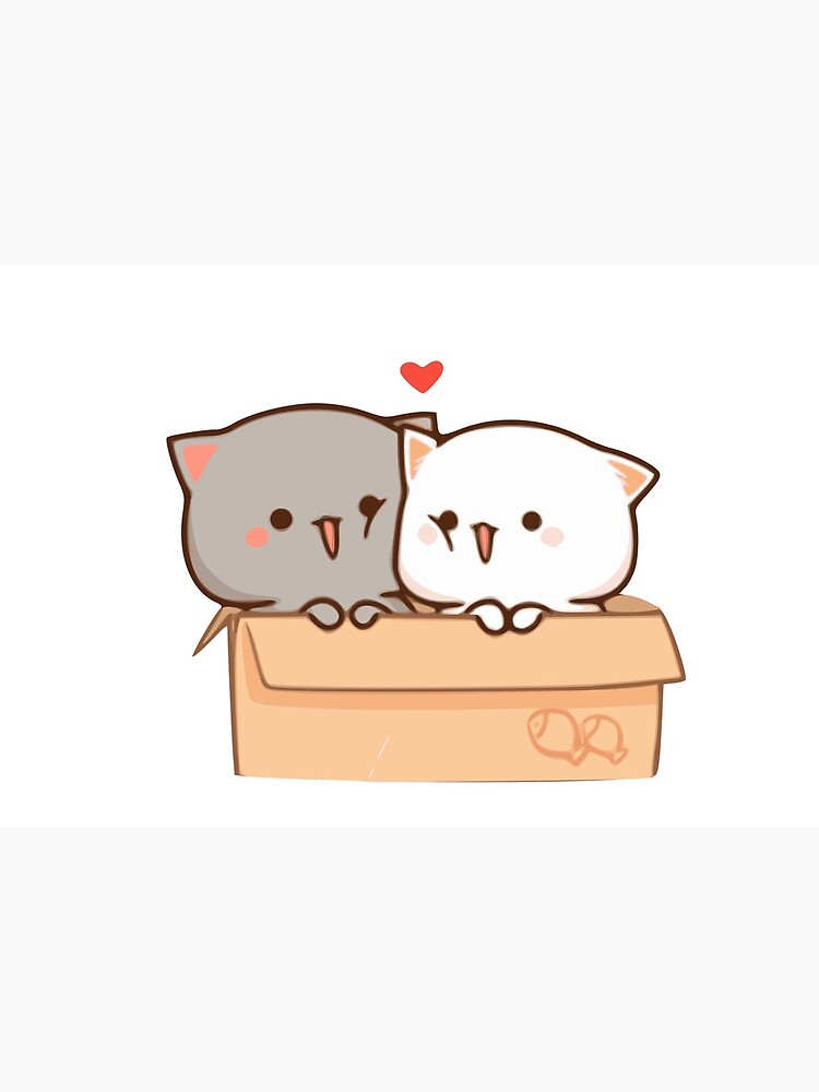 Peach And Goma Mask By Elwiss Cute Anime Cat Cute Cartoon Images Cute Cartoon Wallpapers