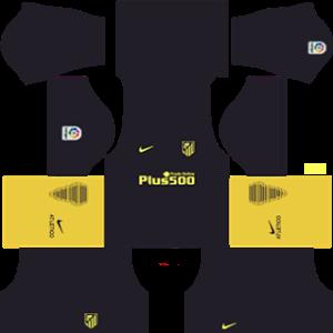 Atletico Madrid Away Dream League Soccer Kits 2016 2017 In 2020 Atletico Madrid Soccer Kits Atletico Madrid Logo