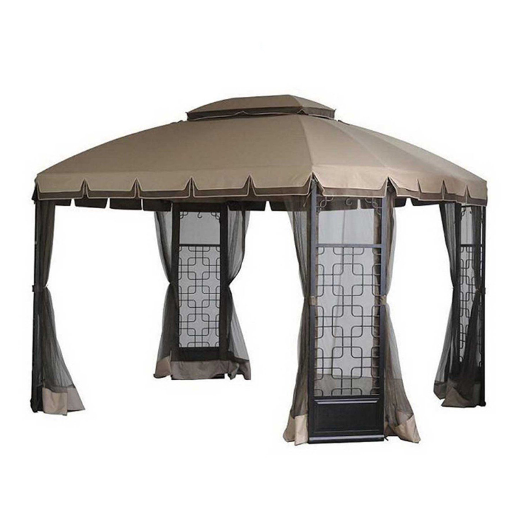 Sunjoy 10 X 12 Ft Replacement Canopy Cover For L Gz454pst A