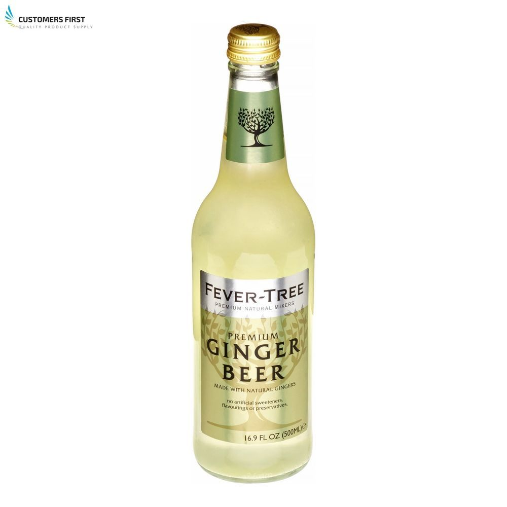 Jamaican Ginger Beer Root Real FeverTree Premium High