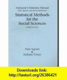 Statistical methods for the social sciences 3rd ed instructors statistical methods for the social sciences 3rd ed instructors solutions manual alan fandeluxe Image collections