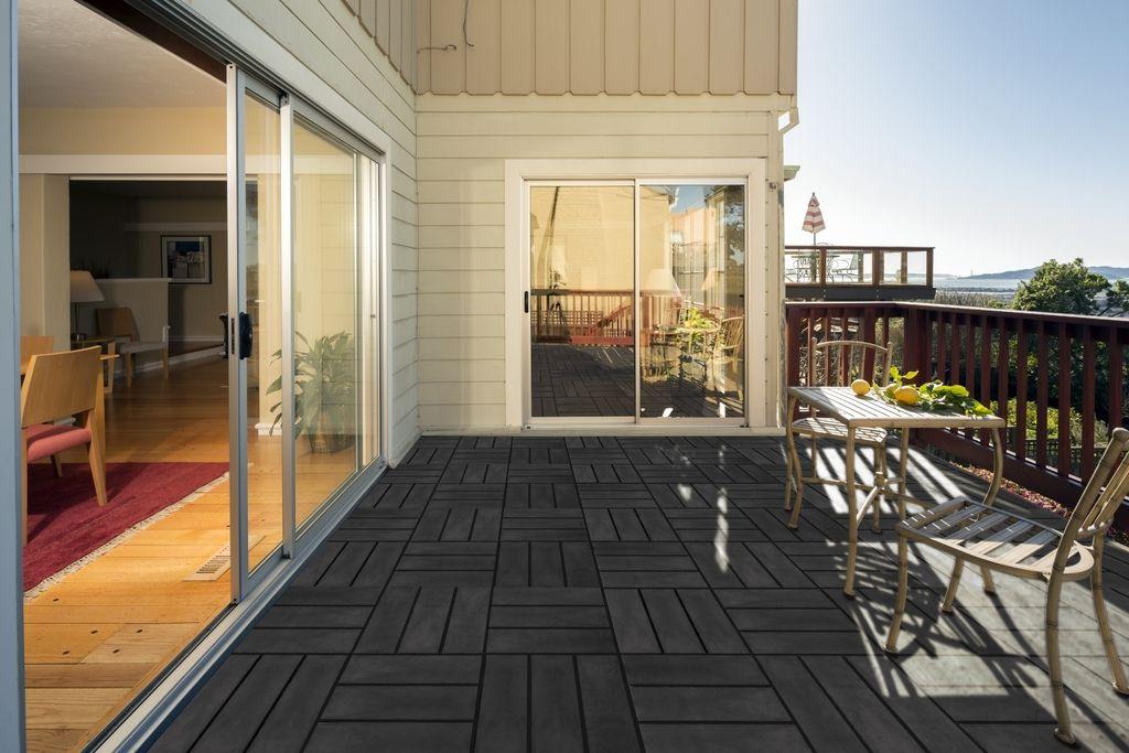 nortene blacksquare dalles de terrasse inspir e des. Black Bedroom Furniture Sets. Home Design Ideas