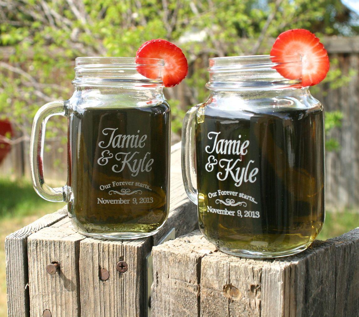 Custom Mason Jar Wedding Favors 97084 Et As Low 3 39 Each